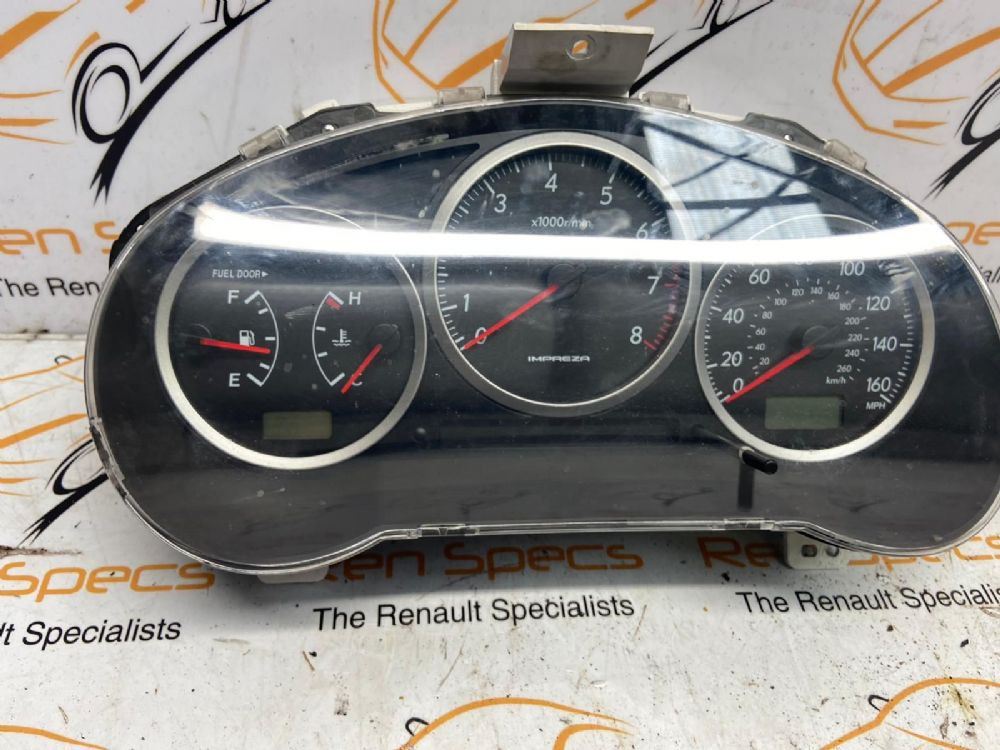 Subaru Impreza Wrx Mk2 (gd) 4 Door Saloon 2005-2008 2.5 Speedo Clocks 85003FE520